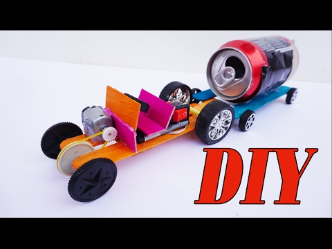 How to make Powerful Tractor For Toy DIY Cool Project – Electric Car Easy Homemade