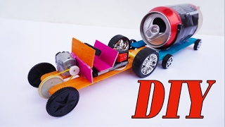How To Make Powerful Tractor For Cool Project - Electric Car Very Easy