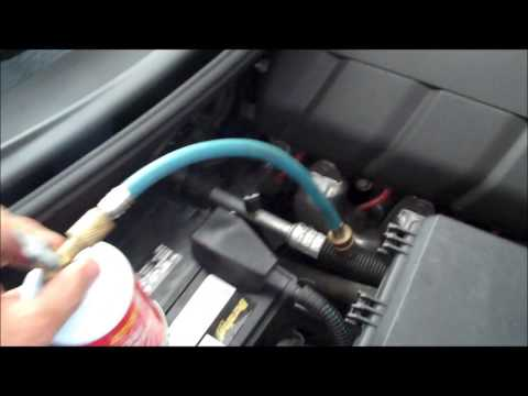How to add freon r134 to your car A/C system