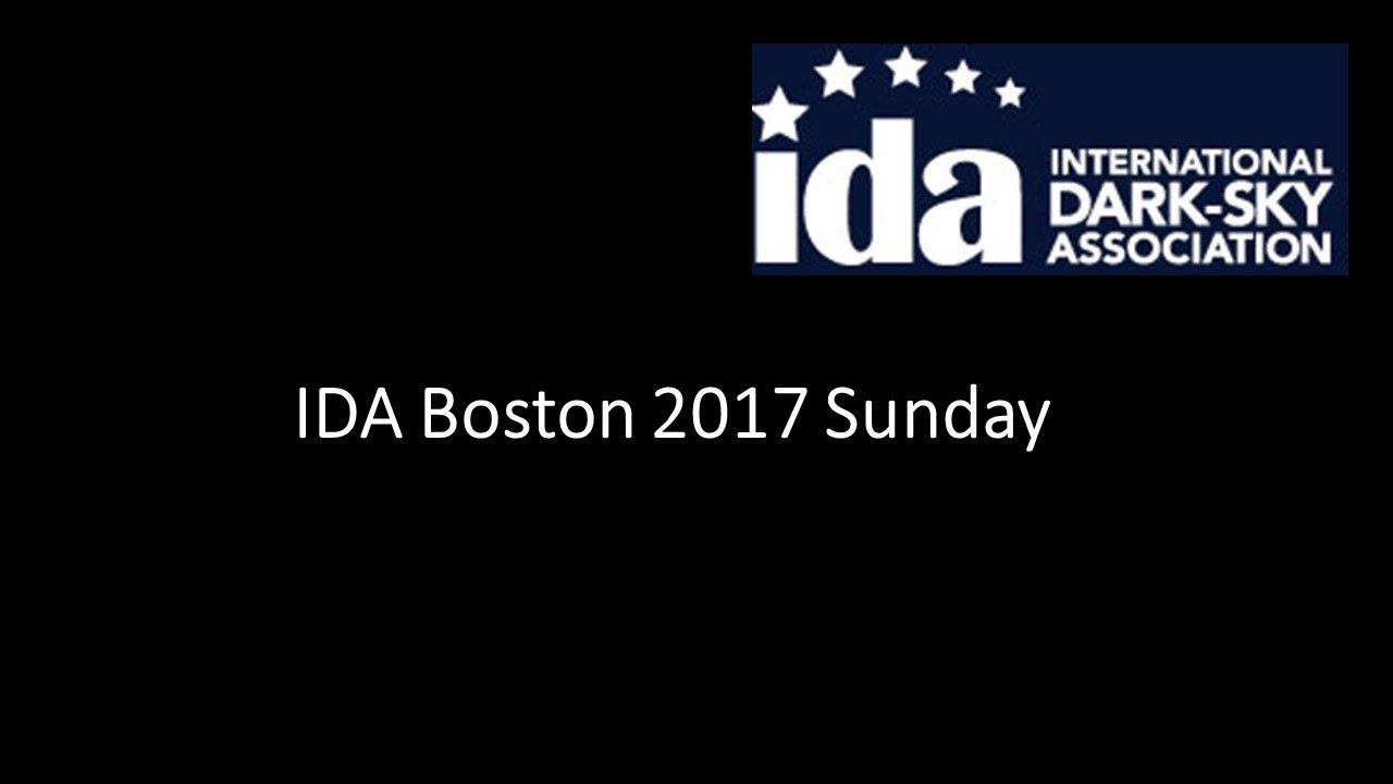 IDA Boston 2017 - Sunday