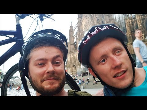 I cycled 500 miles to Germany with a blind man