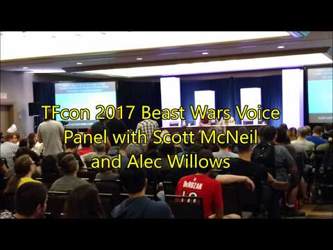 TFcon 2017 Beast Wars Voice Panel with Scott McNeil & Alec Willows