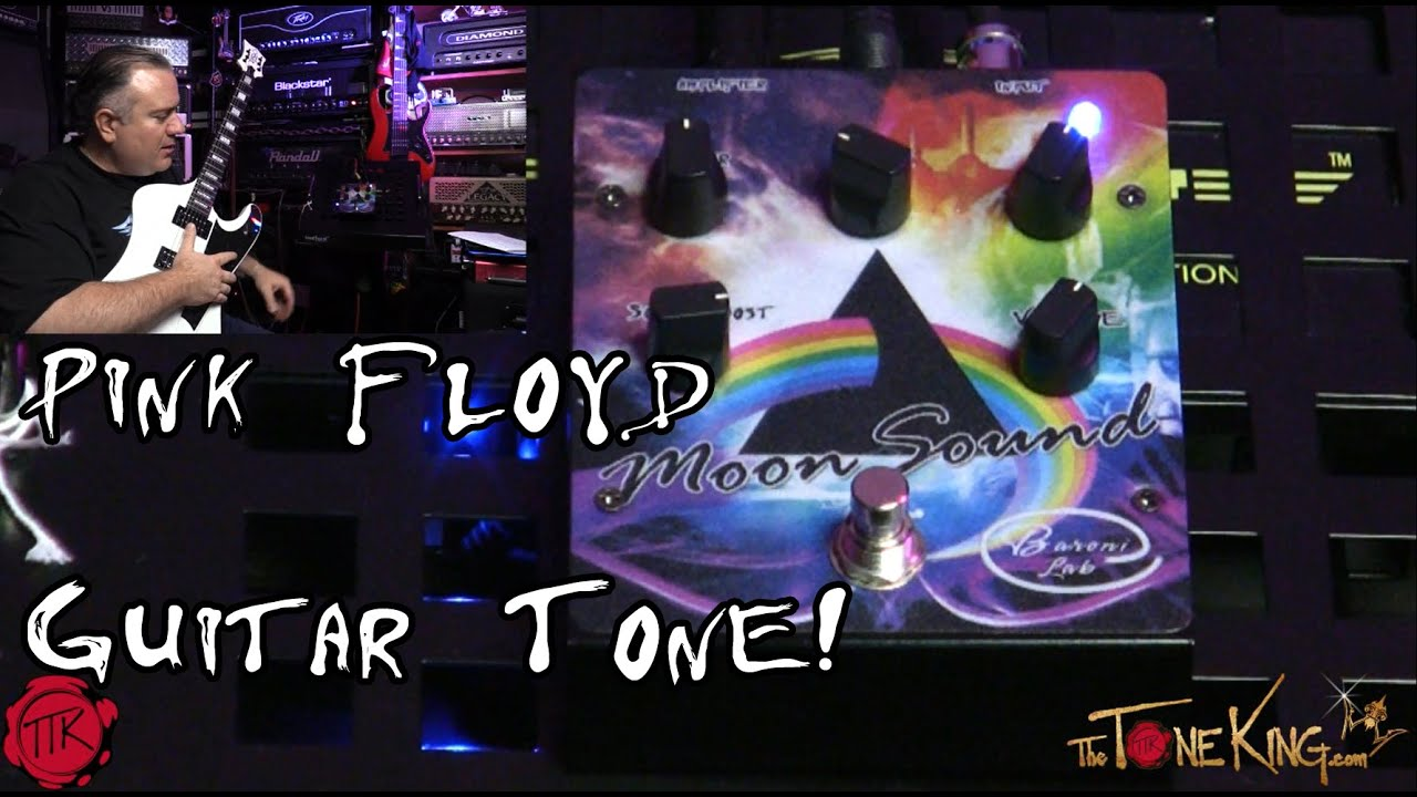 pink floyd in a box david gilmour guitar tone by baroni lab moon sound pedal youtube. Black Bedroom Furniture Sets. Home Design Ideas