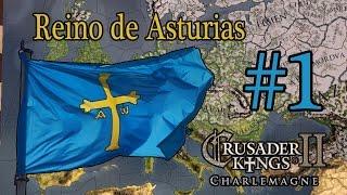 Crusader Kings 2 Charlemagne - Asturies - Parte 1 - Primeras Impresiones
