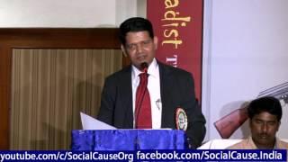Speech by Sri Tufail Ahmad @ Social Cause Hyderabad 2017 Video