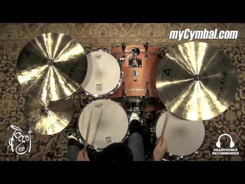 """Istanbul Agop 22"""" Xist Ride Cymbal - 2994g (XR22-1092215M)"""