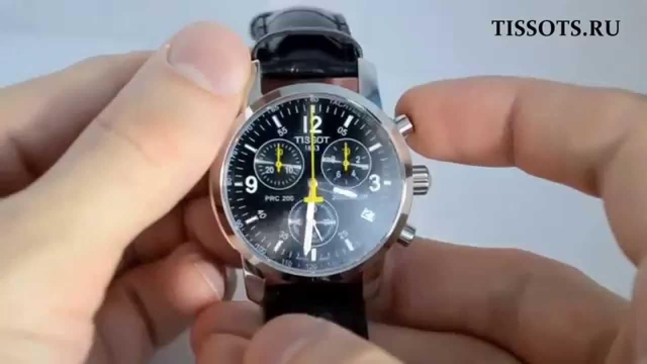 Tissot t t-sport prc quartz chronograph - мужские кварцевые наручные часы.