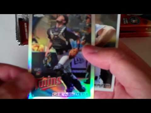 BOX 08/12 - 2010 TOPPS CHROME BASEBALL - CASE BREAK - LUKE HUGHES AUTO, WILSON RAMOS RED REFRACTOR