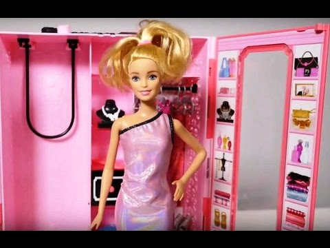 Barbie Doll dress-up game. Videos for kids. - YouTube