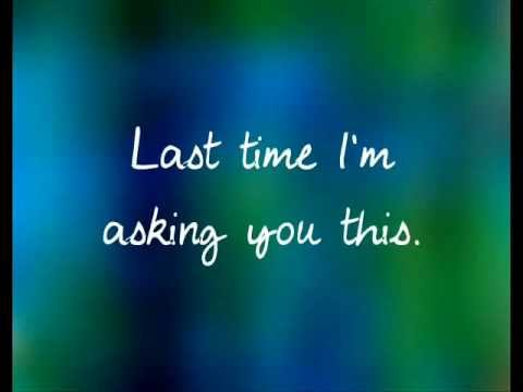 The Last Time by Taylor Swift ft. Gary Lightbody.- lyrics on screen