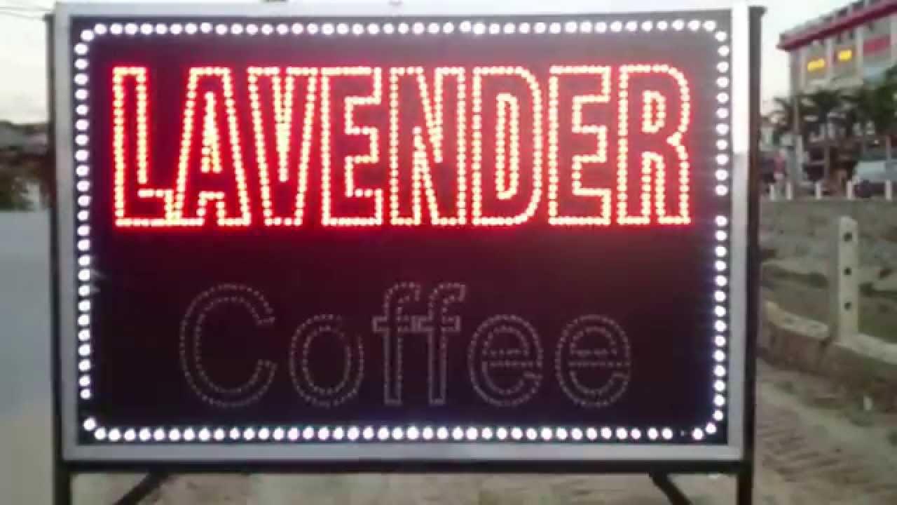 Làm biển quảng cáo LED Nghệ An – Quảng Cáo Hùng Vinh