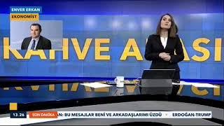 15.01.2019 - TVNet - Kahve Arası - GCM Yatırım Araştırma Uzmanı Enver ERKAN