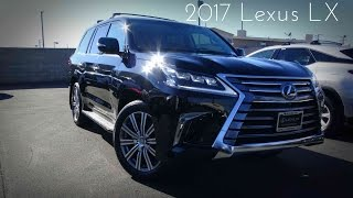2017 Lexus LX570 5.7 L V8 Review