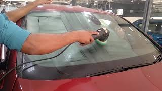 Car With Glass Cleaning at The Car Guys
