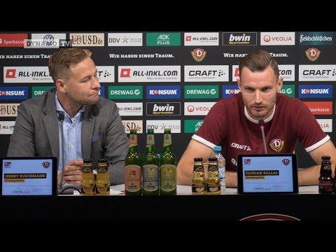 8. Spieltag | AUE - SGD | Pressekonferenz vor dem Spiel