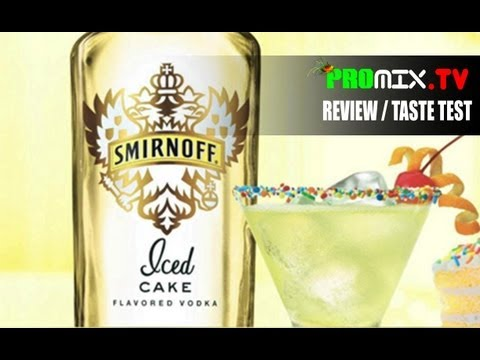 SMIRNOFF ICED CAKE VODKA - REVIEW / TASTE TEST
