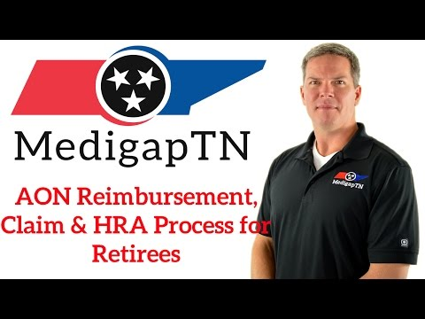 AON Reimbursement/Claim & HRA Process for [SDA] Retirees