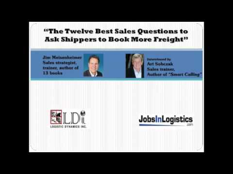 The 12 Best Questions to Ask Shippers to Book More Freight