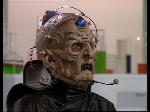 The Doctor becomes Davros's executioner