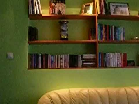 Zöld gipszkarton bútor - YouTube