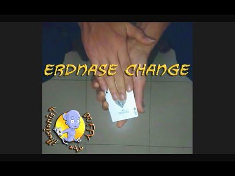 Erdnase Change .. تغيير كارت الكوتشينة بطريقة إردنس