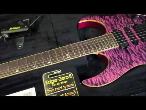Ibanez Premium RG870 QMZ HVV Guitar Demo