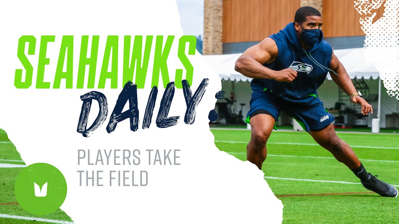 Players Take the Field | Seahawks Daily