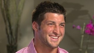 Tim Tebow Interview Exclusive on Girlfriends, Taylor Swift, His Foundation and the New York Jets