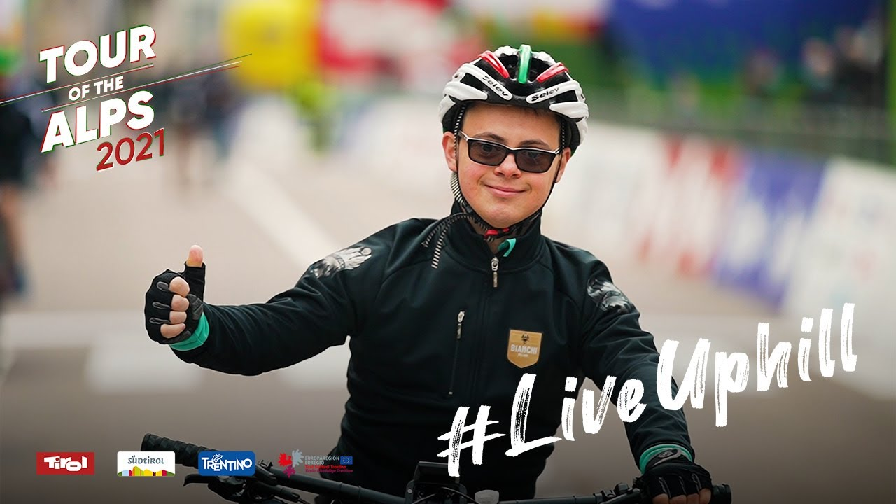 Lorenzo Zulberti to #LiveUphill - Tour of the Alps