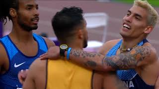 Marshall Zackery Takes Silver In Men's T-35 200m Final | Parapan American Games Lima 2019