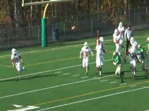 Blake Rice QB Football Highlights 2011, Notre Dame High School