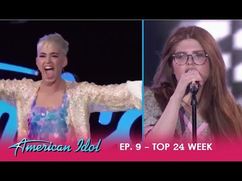 Catie Turner: Katy Perry Goes CRAZY Over Her  Of Call Me  Blondie  American Idol 2018