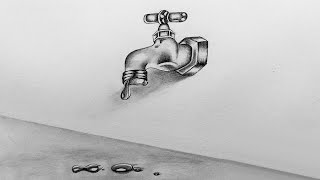 How to Sketch a Water Tap