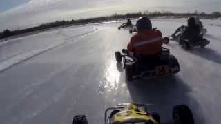 "Зимний картинг ""Ice karting"" Ликино-Дулево"