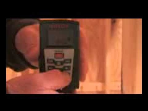 Bosch Power Tools Glr225 Laser Distance Measurer Video Youtube