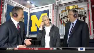 eminems espn interview is really awkward