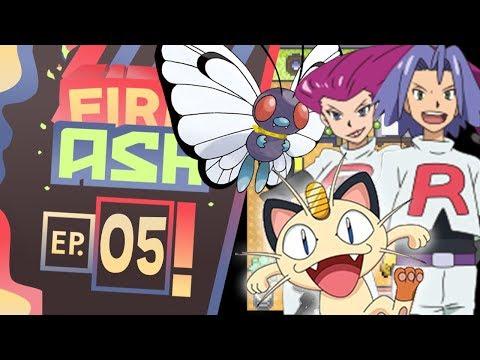 Pokemon Fire Ash Part 5 BYE BYE BUTTERFREE! ( Pokemon Fan Game ) Gameplay Walkthrough