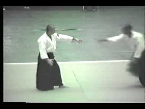 Hiroshi Isoyama at 1987 All-Japan Aikido Demonstration