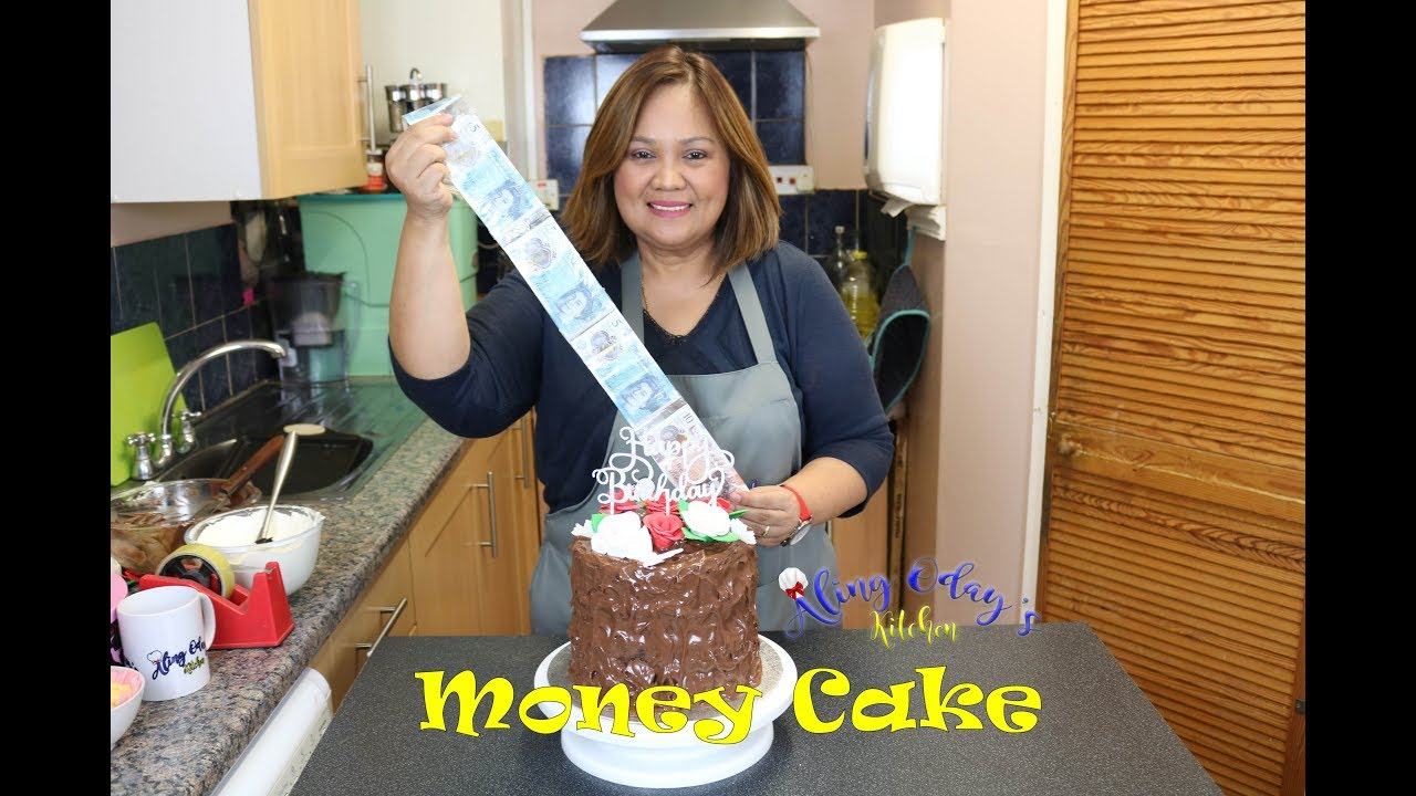 How To Make A Money Cake Filipino