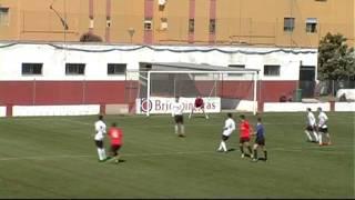 Resumen del encuentro UD Roteña 0 - CD Gerena 3 Temporada 2015/16