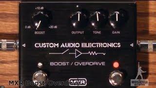 MXR Boost Overdrive Pedal MC402 Guitar Pedal Review - GearUP on TMNtv !