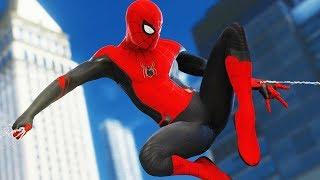 КОСТЮМ ВДАЛИ ОТ ДОМА Володя и костюмы в Человек Паук на PS4 Прохождение Marvel's Spider Man ПС4