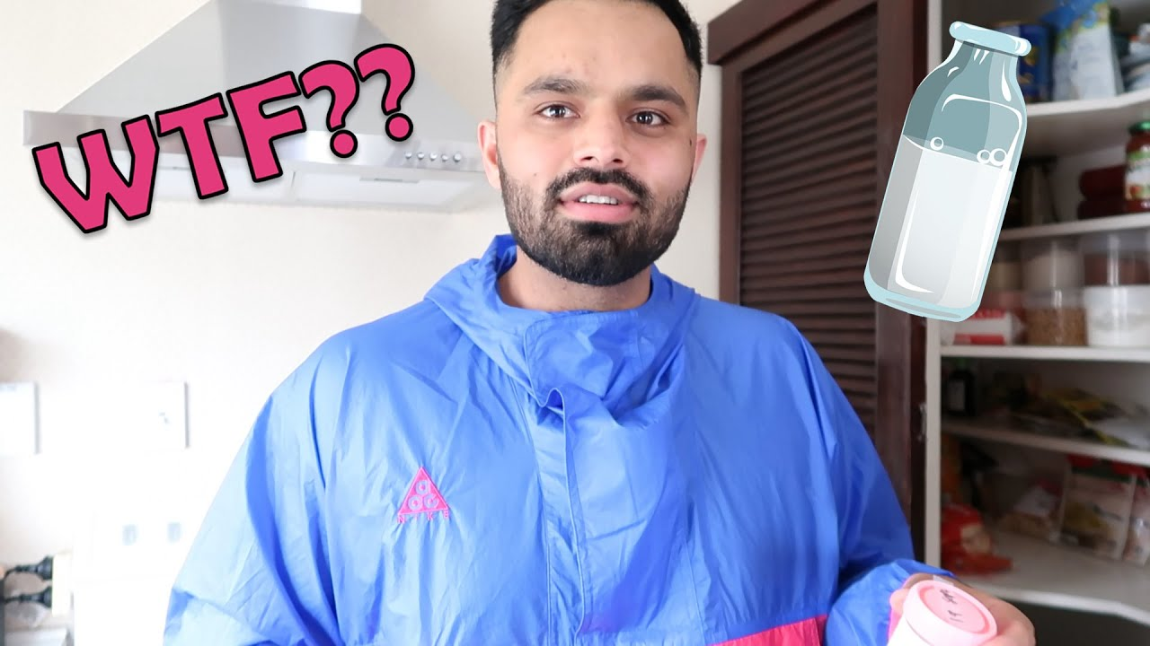 MY HUSBAND DRINKS CHAI WITH MY BREAST MILK (PRANK) *HE FREAKS OUT*