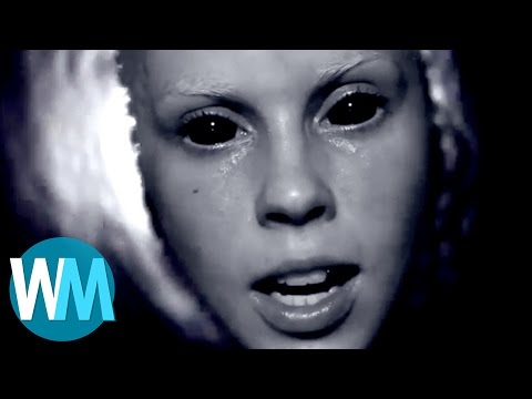 Top 10 Most Terrifying Music Videos