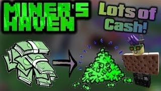 Roblox miners haven how to get lots of money for starters