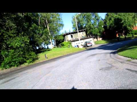 Honda Ruckus Scooter Ride Dry Cleaners To Southport Neighborhood Anchorage Alaska