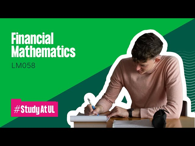 LM058 - Bachelor of Science in Financial Mathematics
