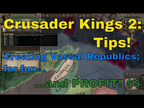 [CK2 Tips] Creating Vassal Republics For Fun and Profit