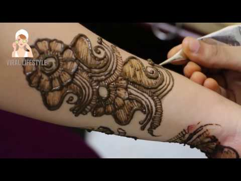 Full Hand Indian mehndi Design | Learn Step By Step | Viral Lifestyle