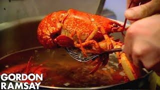 Cooking Lobster with Jeremy Clarkson - Gordon Ramsay